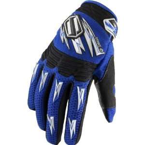 SHIFT RACING STRIKE GLOVE BLUE LG