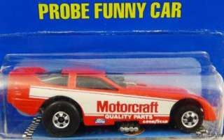 HOT WHEELS PROBE FUNNY CAR #7608 NRFP MINT COND 1989