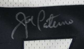 Joe Paterno Autographed/Signed Penn State GAME Jersey PSA/DNA