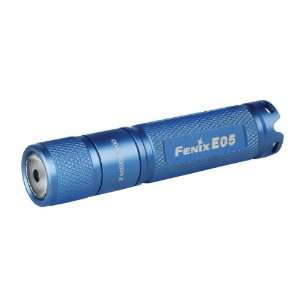 Fenix E05 LED Waterproof Mini Torch Flashlight (Blue
