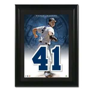 New York Yankees Unsigned Jersey Numbers Piece
