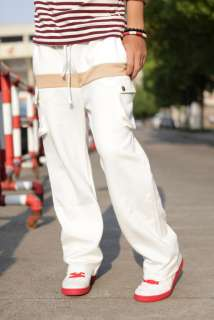 Mens Casual Sports Trousers Long Pants 3 color 4 size