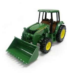 John Deere Tractor with Big Loader Toys & Games