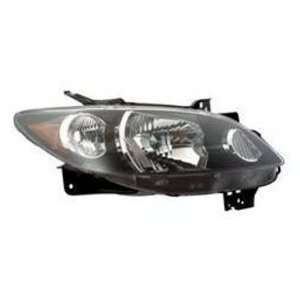 Mazda MPV with Rocker Molding Headlight Assembly Passenger