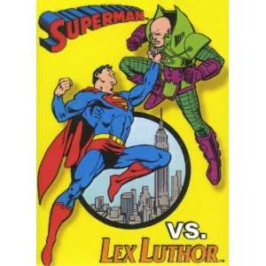 Superman Meets Lex Luther , 3x4