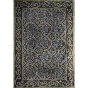 Liora Manne Tropez Rug Collection   Circles Black