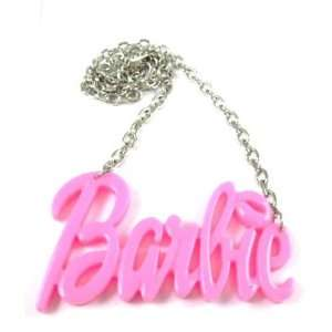 NEW NICKI MINAJ BARBIE Pink Pendant w/18 Chain Jewelry
