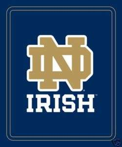 Notre Dame Fighting Irish Fleece Throw Blanket