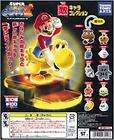 Bandai Super mario Bros Magnet figure 8p 10p keychain items in Super
