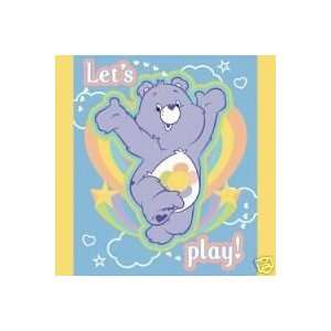 Care Bears Lets Play Fleece Blanket New GREAT GIFT