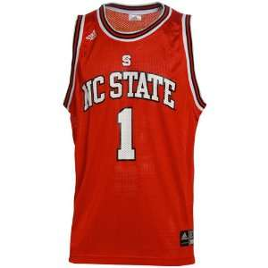 adidas North Carolina State Wolfpack #1 Red Replica