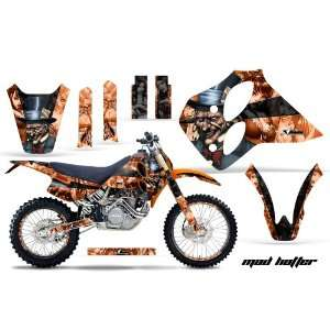 AMR Racing KTM C0 Sx Xc Lc4 Mx Dirt Bike Graphic Kit   1993 1997 Mad