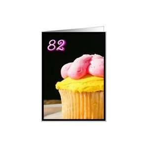 Happy 82nd Birthday Muffin Card Toys & Games