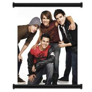 Big Time Rush Pop Group Fabric Wall Scroll Poster (16x21