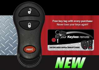 JEEP GRAND CHEROKEE REMOTE KEY KEYLESS FOB TRANSMITTER