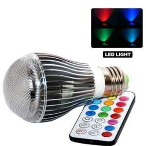 GearXS 9W E27 Color LED RGB Magic Light Bulb w Wireless