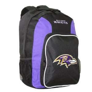 NFL Baltimore Ravens Southpaw Team Color Backpack  Sports