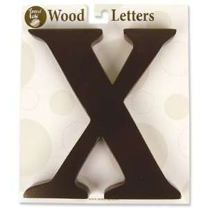 Nursery Baby Decorative Wooden Letter X Baby