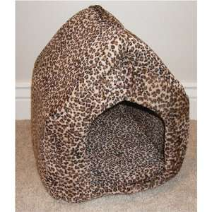 Leopard Print Dog or Cat Pet House