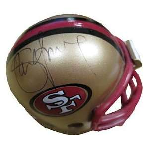 Steve Young Autographed/Signed Miniature Mini Helmet