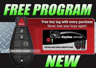 CHRYSLER TOWN & COUNTRY REMOTE FOBIK KEY KEYLESS FOB