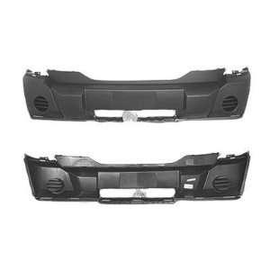 TY1 Dodge Nitro Gray Replacement Front Bumper Cover Automotive