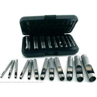 21 Leather Hole Punching Cutting Hollow Punch Tool Set