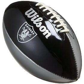 OAKLAND RAIDERS NFL UNDERGLASS JUNIOR FOOTBALL F1534