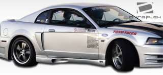 1999 2004 Ford Mustang KR S Side Skirts Duraflex