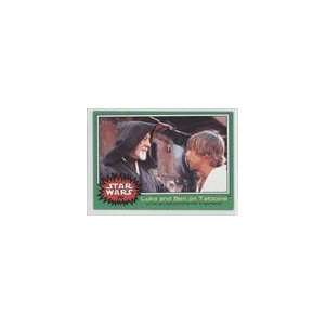 1977 Star Wars (Trading Card) #250   Luke and Ben on Tatooine
