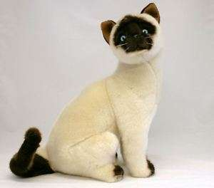 Siamese Cat soft plush toy Tulip 40cm/16 NEW