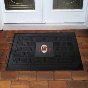 MLB San Francisco Giants Baseball Medallion Door Mat 19 X