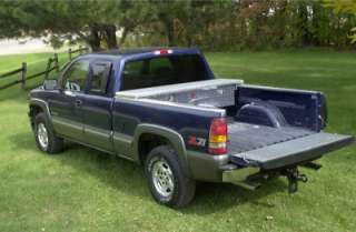 Diamond Plate Truck Tool Box05 11 Tacoma Short Bed
