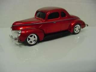 HOT ROD UNDERGROUND 1940 FORD COUPE RED CAR 1/43 DIECAST NEW