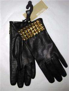 Michael Kors Womens Leather Gloves