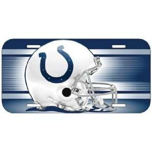 NFL Indianapolis Colts License Plate