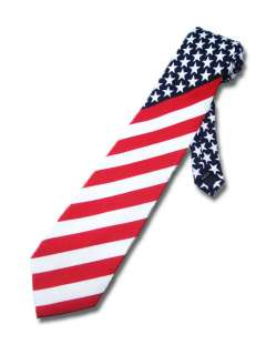 NEW AMERICAN FLAG NECKTIE UNITED STATES AMERICA USA TIE