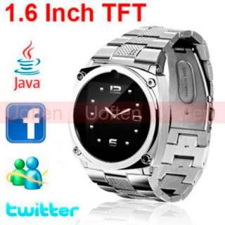 TFT Touch Screen Unlocked Cell Phone Watch Hidden Camera DVR JAVA
