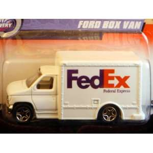 Matchbox by Matel Wheels   1999   Fed Ex Ford Box Van