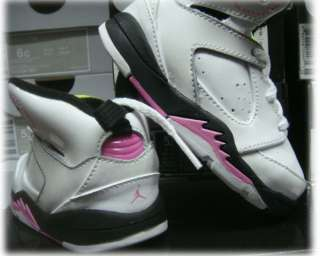 Nike Jordan Sixty White Pink Toddler Infants Shoes 6.5