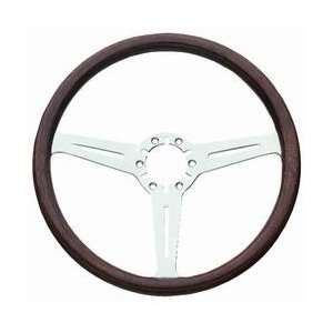 Classic Series Corvette Steering Wheel 14 in. Mahogany w