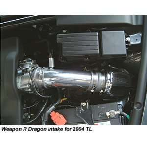 Short Ram Dragon Intake for Acura TL 2004 2005 ColorBlue Automotive