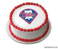 Philadelphia Phillies Edible Image Icing Cake Topper