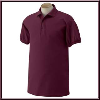 Gildan Cotton/Poly Jersey Polo Sport Shirt S 3X,4X,5X