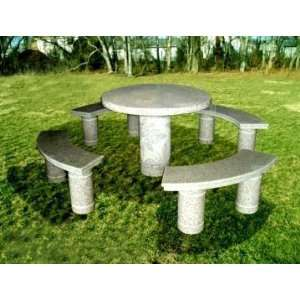 National Tree Company FQT 800 36 36 Inch Granite Round