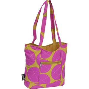 Wildkin Big Dots Hot Pink Quilted Tote Bags