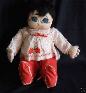 Hand Made Baby Soft Cloth Doll 23 NWT
