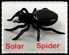 Solar Powered Spider Educational Robot Toys Gadget Gift