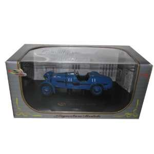 1934 Aston Martin Lemans Diecast Model Car 1/32 Blue Toys & Games