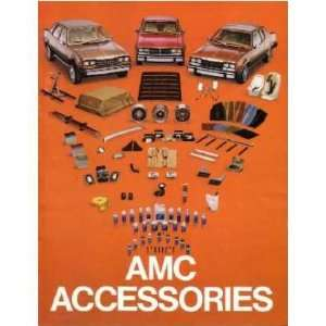 1983 AMC Accessories Sales Brochure Literature Book